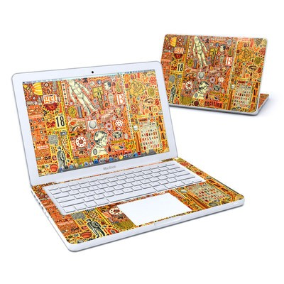 MacBook 13in Skin - The Golding Time