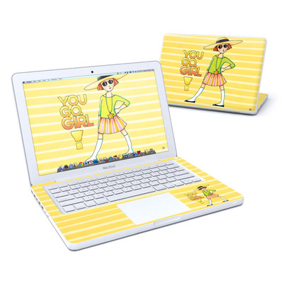 MacBook 13in Skin - You Go Girl
