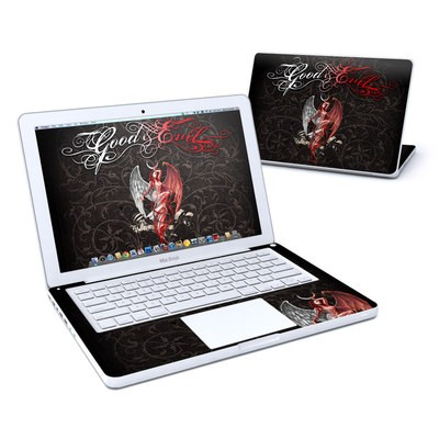 MacBook 13in Skin - Good and Evil