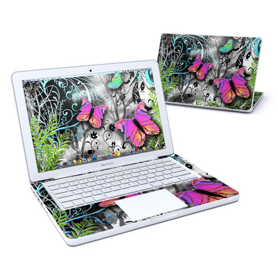 MacBook 13in Skin - Goth Forest