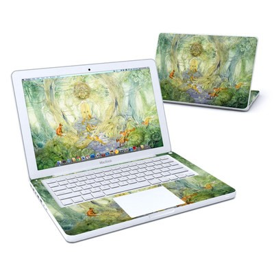 MacBook 13in Skin - Green Gate