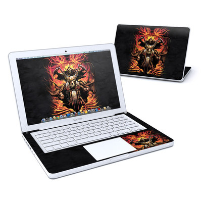 MacBook 13in Skin - Grim Rider