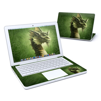 MacBook 13in Skin - Green Dragon