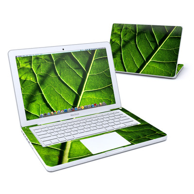 MacBook 13in Skin - Green Leaf
