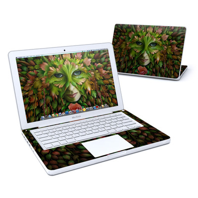 MacBook 13in Skin - Green Woman