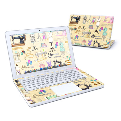 MacBook 13in Skin - Haberdashery