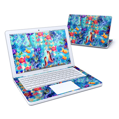 MacBook 13in Skin - Harlequin Seascape