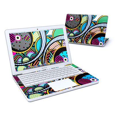 MacBook 13in Skin - Hula Hoops