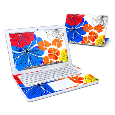 MacBook 13in Skin - Hibiscus Dance