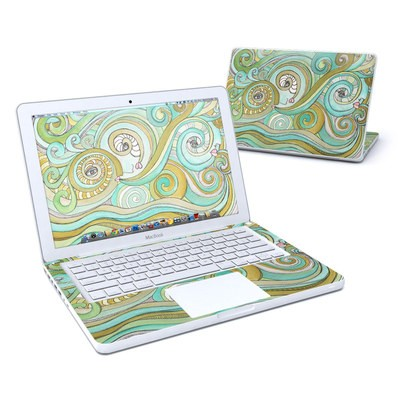 MacBook 13in Skin - Honeydew Ocean