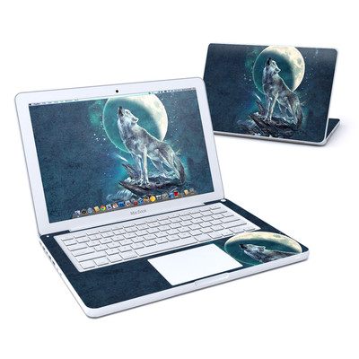 MacBook 13in Skin - Howling Moon Soloist
