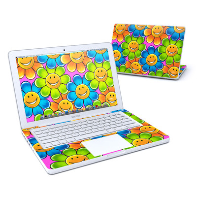 MacBook 13in Skin - Happy Daisies