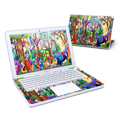 MacBook 13in Skin - Happy Town Celebration