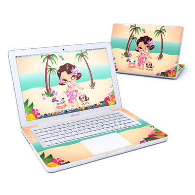 MacBook 13in Skin - Hula Lulu