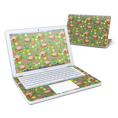 MacBook 13in Skin - Hula Monkeys
