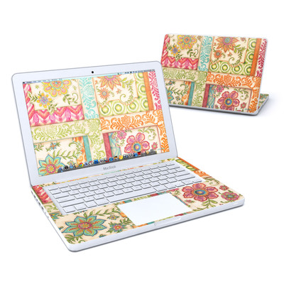 MacBook 13in Skin - Ikat Floral