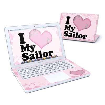 MacBook 13in Skin - I Love My Sailor