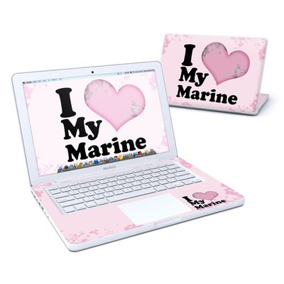 MacBook 13in Skin - I Love My Marine