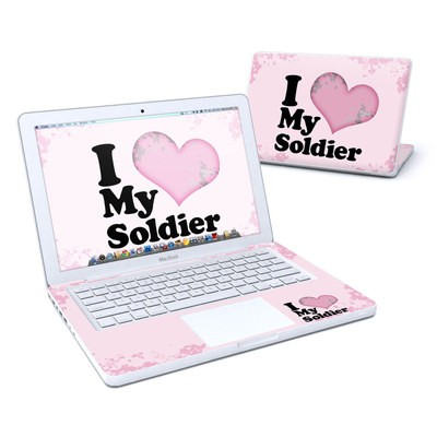 MacBook 13in Skin - I Love My Soldier