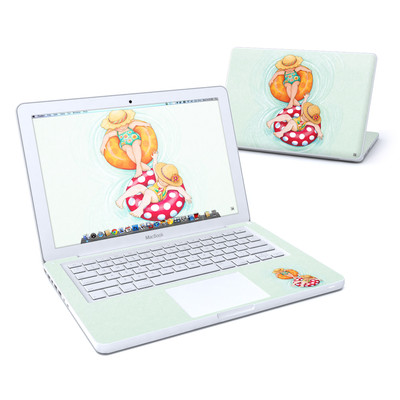MacBook 13in Skin - Inner Tube Girls