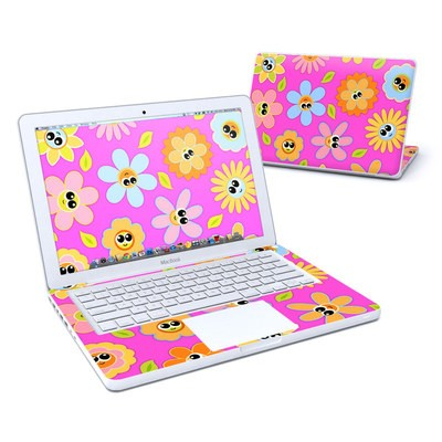 MacBook 13in Skin - Kawaii Flower