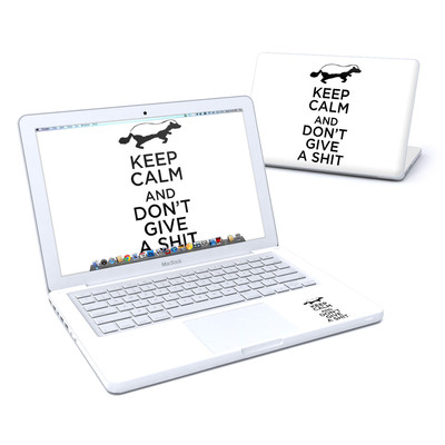 MacBook 13in Skin - Keep Calm - HB