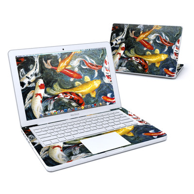 MacBook 13in Skin - Koi's Happiness