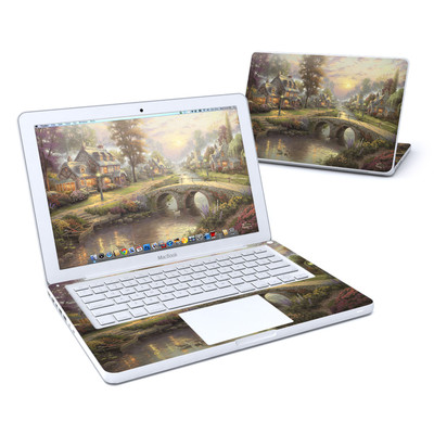 MacBook 13in Skin - Sunset On Lamplight Lane