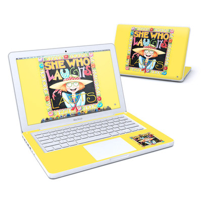 MacBook 13in Skin - She Who Laughs