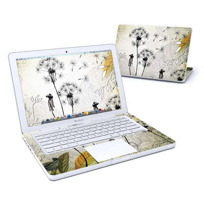 MacBook 13in Skin - Little Dandelion