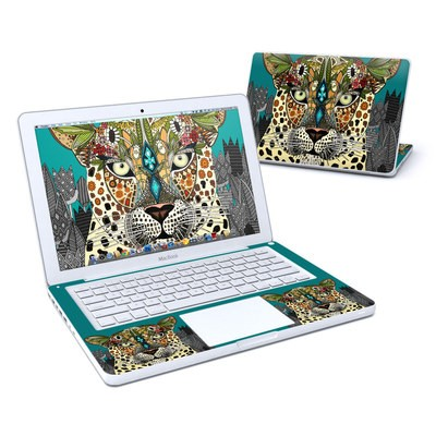 MacBook 13in Skin - Leopard Queen