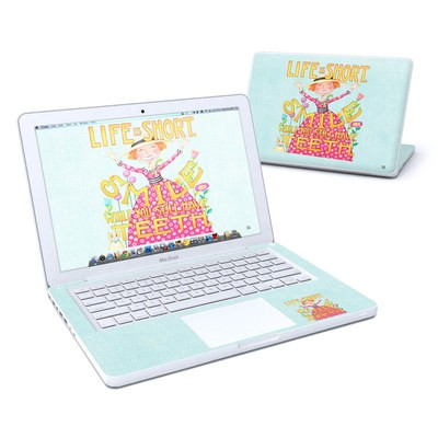 MacBook 13in Skin - Life is Short