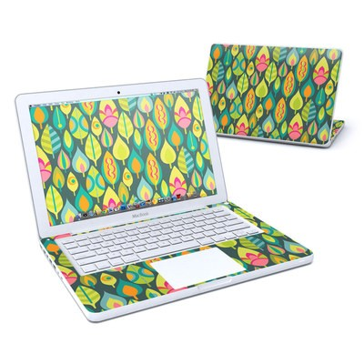 MacBook 13in Skin - Little Leaves