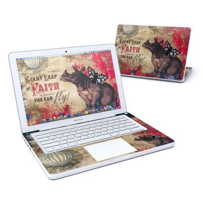 MacBook 13in Skin - Leap Of Faith