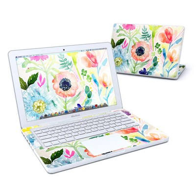 MacBook 13in Skin - Loose Flowers