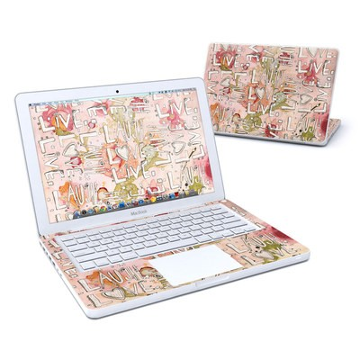 MacBook 13in Skin - Love Floral