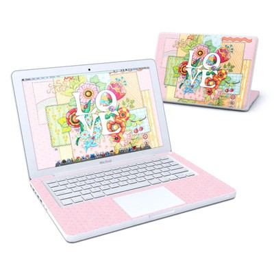 MacBook 13in Skin - Love And Stitches