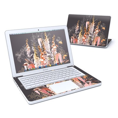 MacBook 13in Skin - Lupines Chocolate
