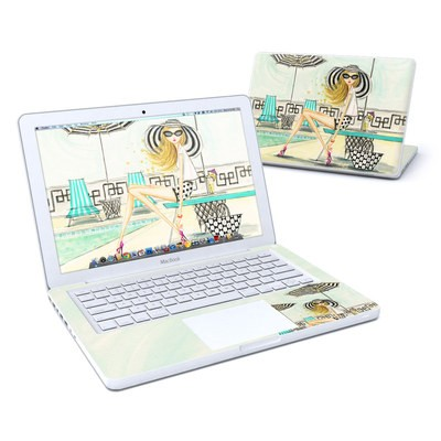 MacBook 13in Skin - Luxe Retreat Poolside