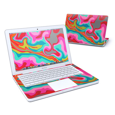 MacBook 13in Skin - Marble Bright