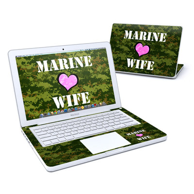 MacBook 13in Skin - Marine Wife