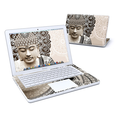 MacBook 13in Skin - Meditation Mehndi