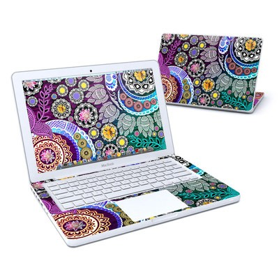 MacBook 13in Skin - Mehndi Garden
