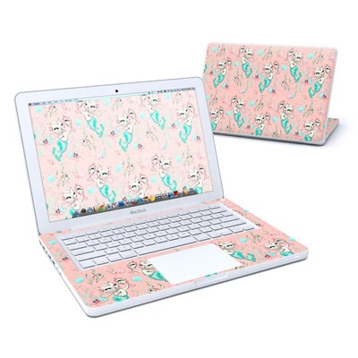 MacBook 13in Skin - Merkittens with Pearls Blush