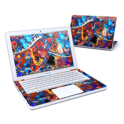 MacBook 13in Skin - Music Madness