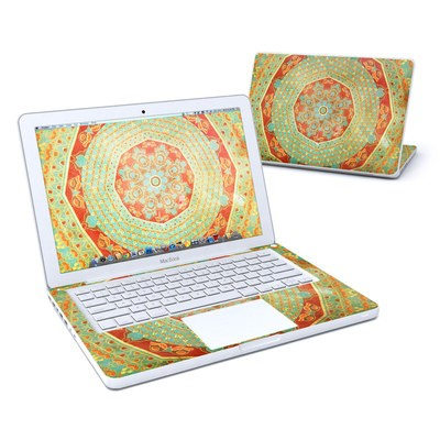 MacBook 13in Skin - Mandala Citrus