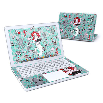 MacBook 13in Skin - Molly Mermaid
