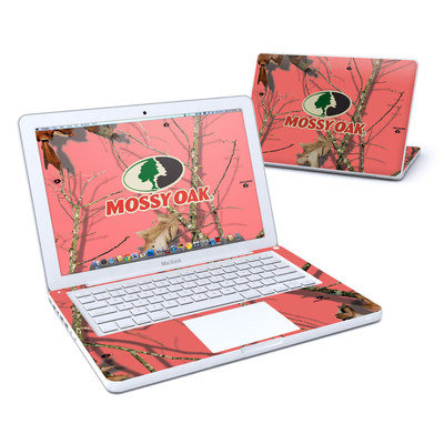MacBook 13in Skin - Break-Up Lifestyles Salmon