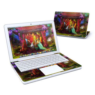 MacBook 13in Skin - A Mad Tea Party