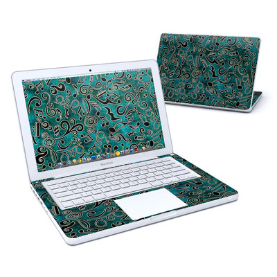 MacBook 13in Skin - Music Notes